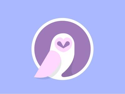 Purple Owl design