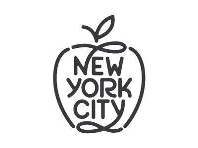 Apple made with Lines