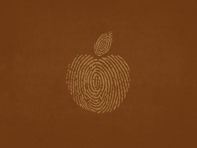 Brown Thumbprint Apple