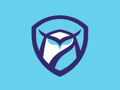 Blue owl crest