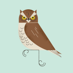 Realistic looking owl
