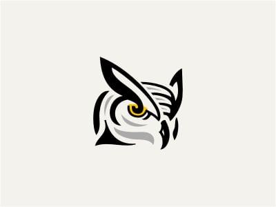 Old owl design