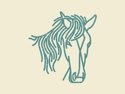 Realistic Horse Logo