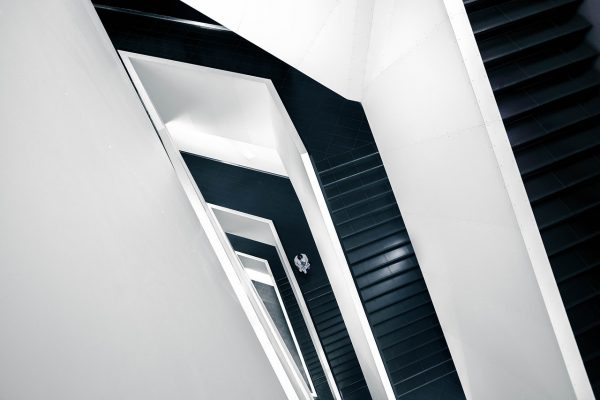 stairwell abstract architecture