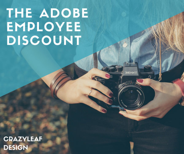 adobe employee discount
