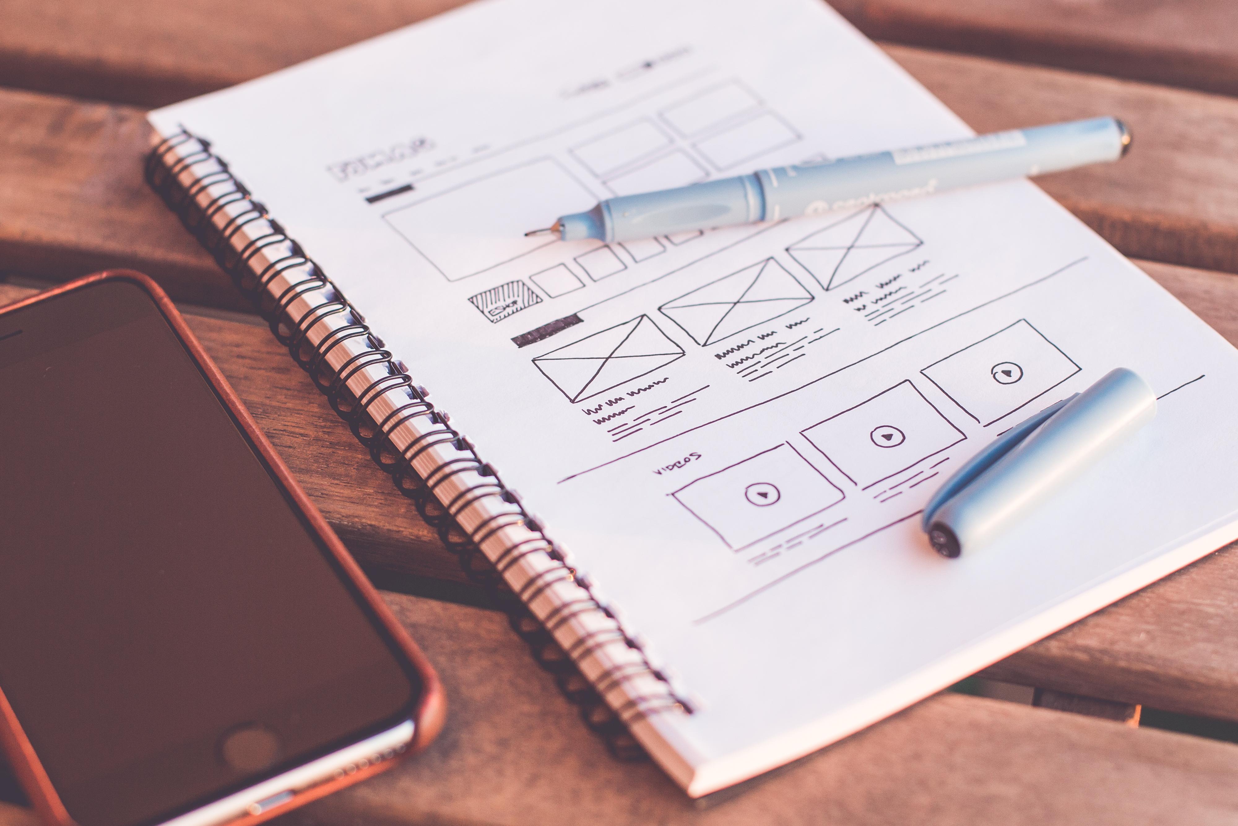 webdesign sketch