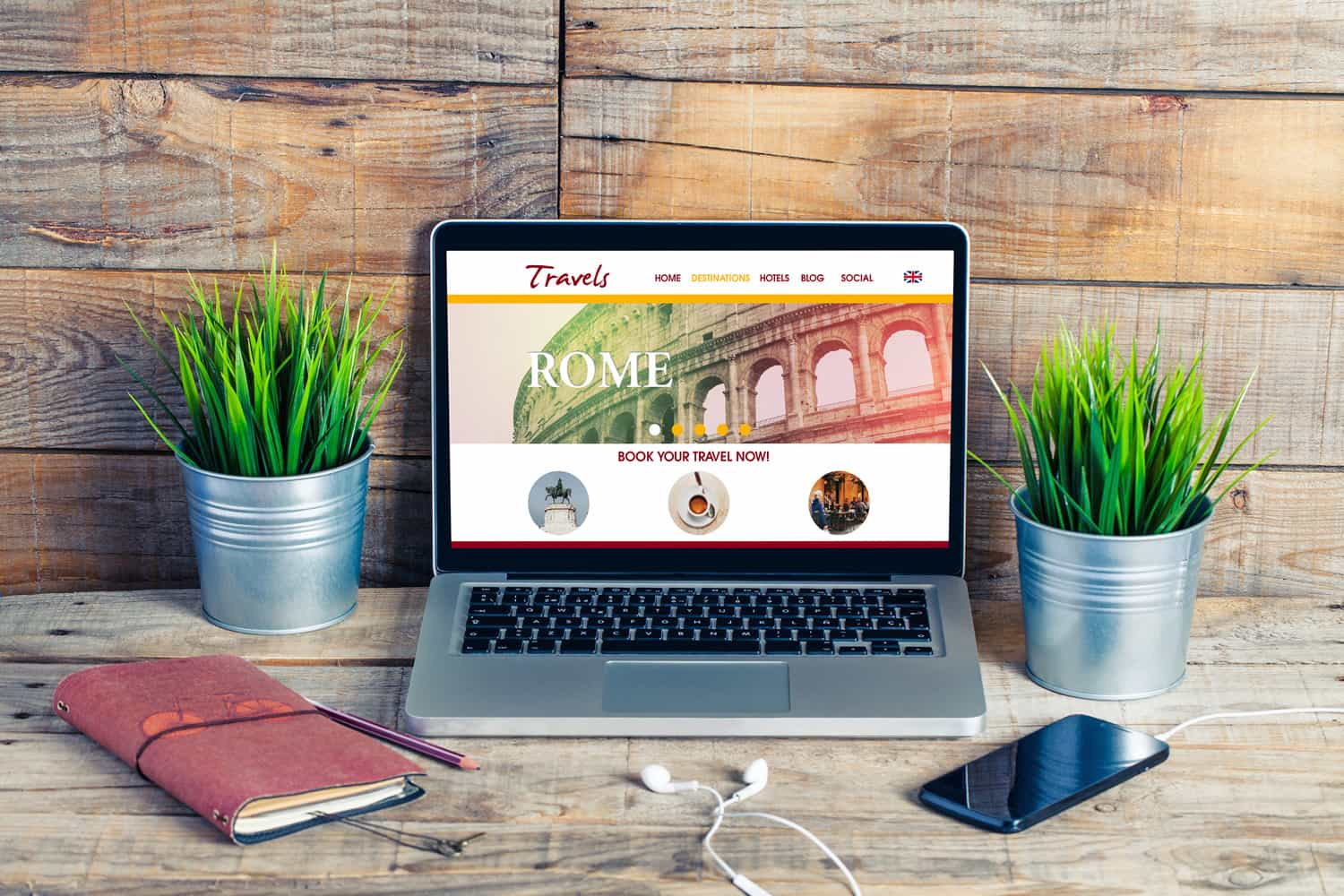 The 411 on Eye-Catching Travel Website Design