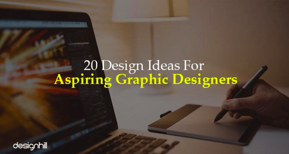 20 Design Ideas for Aspiring Graphic Designers