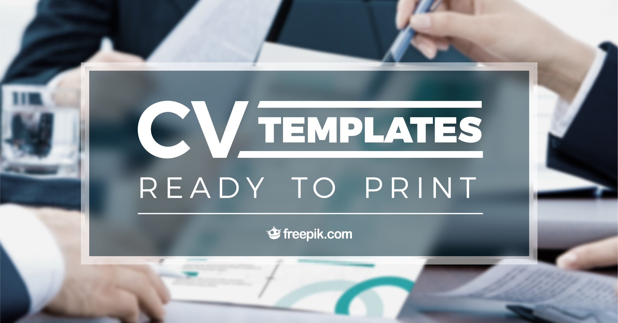 COVER for CV Templates