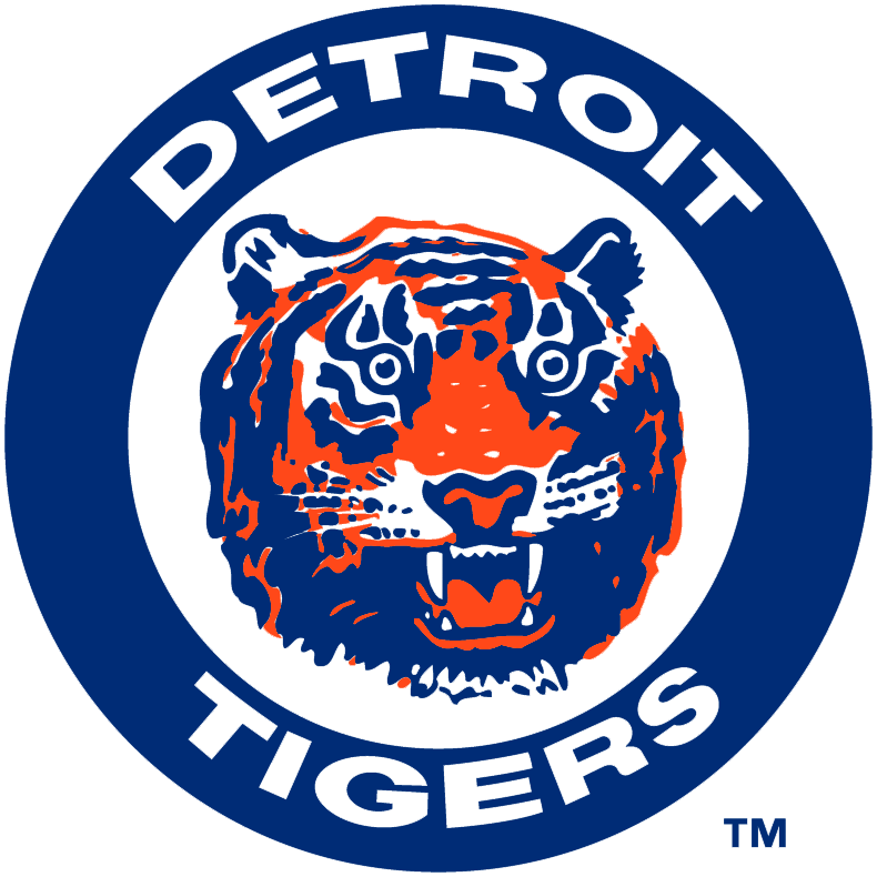 Detroit Tigers logo 1964-1993