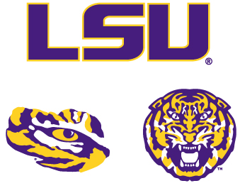 LSU Athletics Logos