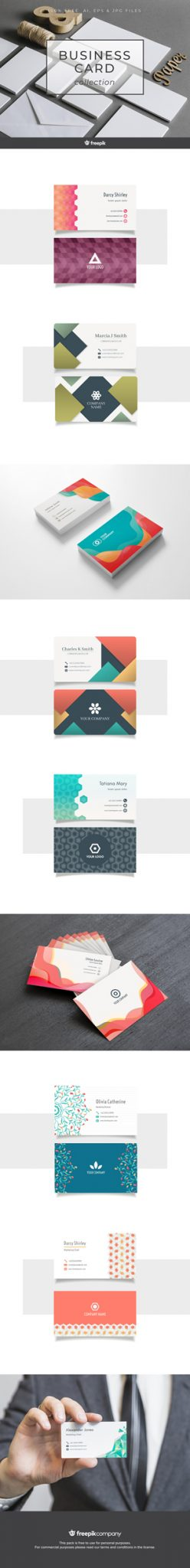 BUSINESS_CARD Free Download via Freepik