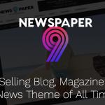 Newspaper Wordpress Theme Preview