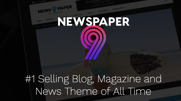 Newspaper Wordpress Theme Preview
