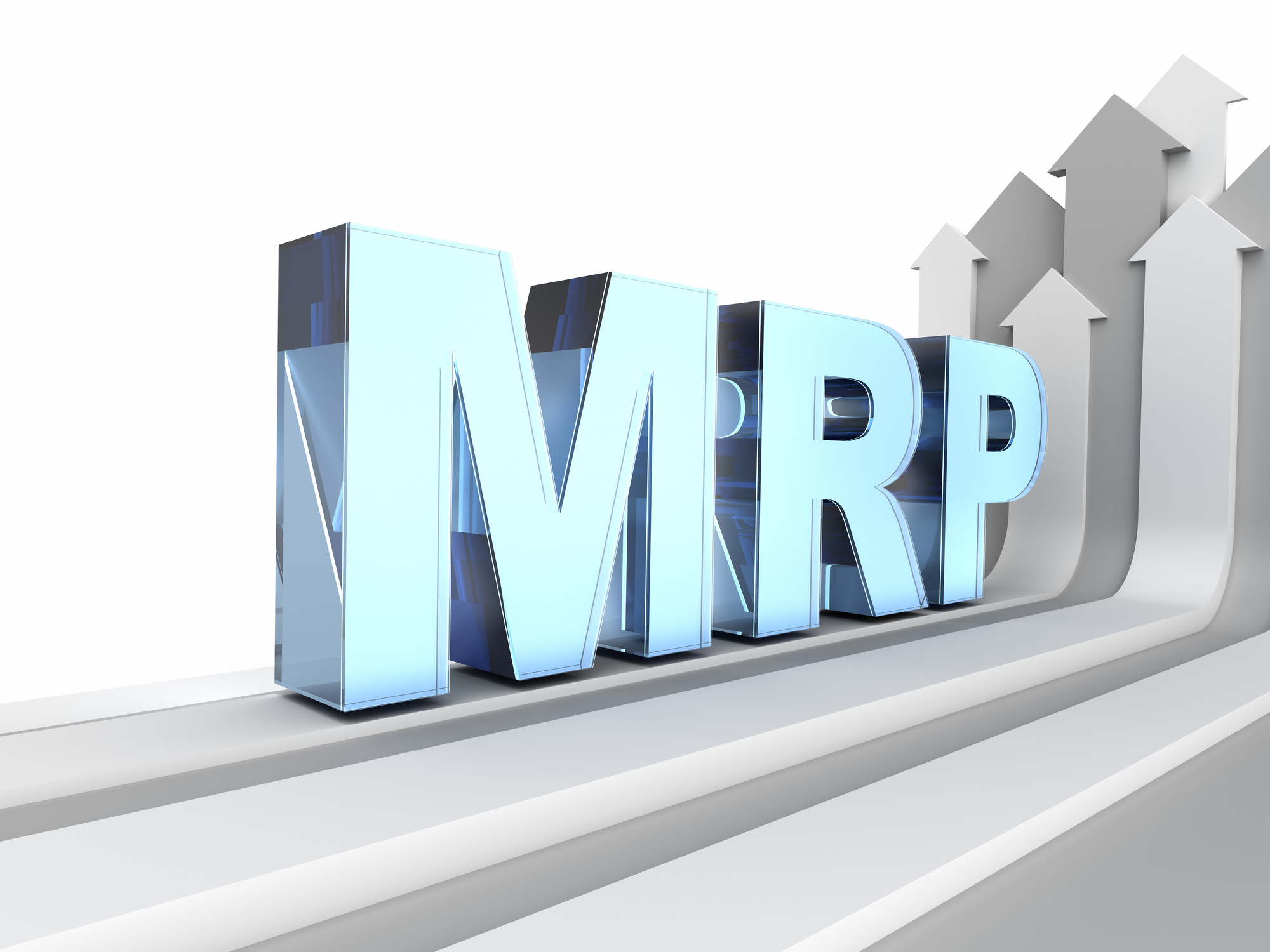 MRP acronym (Manufacturing resource planning)