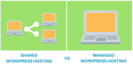 Wordpress shared hosting vs Managed hosting