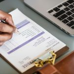 writing an invoice