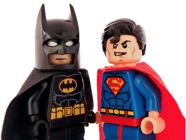 Batman and Superman Lego