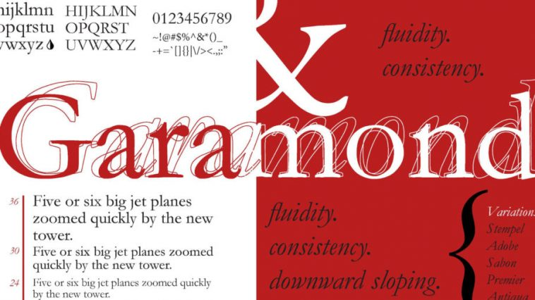 Garamond Font
