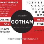 Gotham-Font Free Download