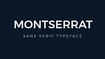 Montserrat-Font