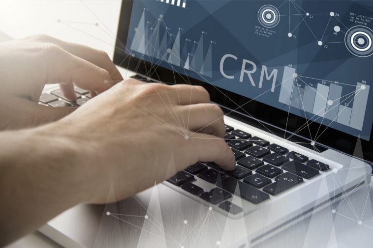 crm techie working